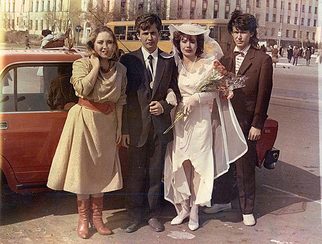 Свадьбы в 80 годов 69